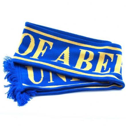 University Scarf Royal/Yellow
